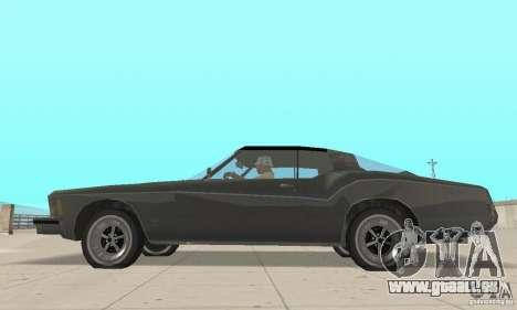 Buick Riviera 1973 pour GTA San Andreas sur la vue arrière gauche