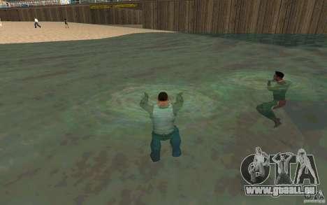 Menschen sind in der Lage zu schwimmen für GTA San Andreas
