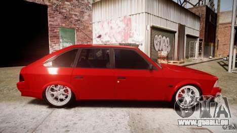 AZLK Moskvitch 2141 STR-v 2.1 pour GTA 4 est une vue de l'intérieur