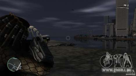 Predator Predator pour GTA 4 troisième écran