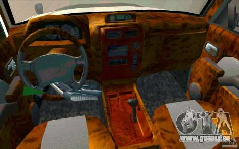 Toyota Land Cruiser Prado für GTA San Andreas obere Ansicht