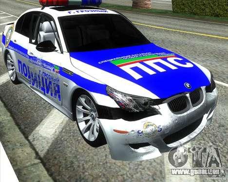 BMW M5 E60 Polizei für GTA San Andreas Räder