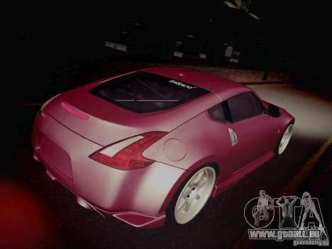 Nissan 370Z Fatlace pour GTA San Andreas vue de côté
