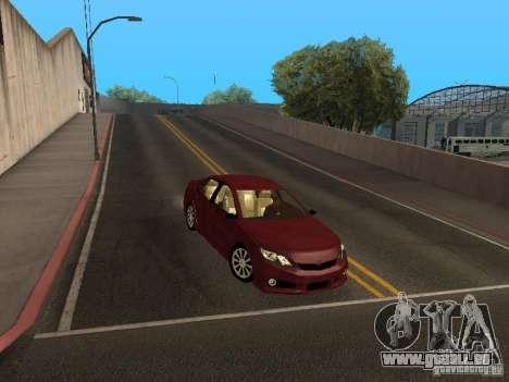 Toyota Camry 2013 für GTA San Andreas Rückansicht