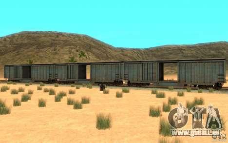 San Andreas Beta Train Mod pour GTA San Andreas sur la vue arrière gauche