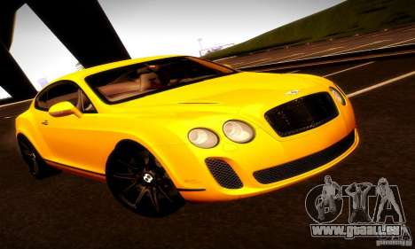 Bentley Continental Supersports für GTA San Andreas