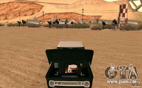 Chevrolet C-10 Fixxa pour GTA San Andreas sur la vue arrière gauche