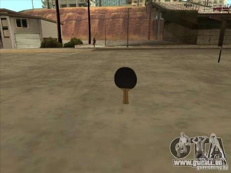 Tennisschläger für GTA San Andreas dritten Screenshot