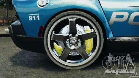 Dodge Viper SRT-10 ACR ELITE POLICE pour GTA 4 Vue arrière