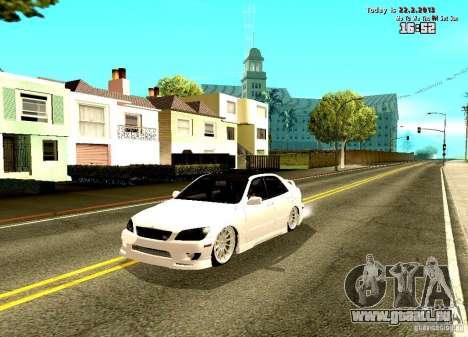 Toyota Altezza pour GTA San Andreas
