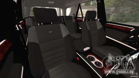 Mercedes-Benz ML63 AMG Brabus pour GTA 4 est une vue de l'intérieur