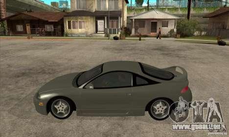 Mitsubishi Eclipse GSX - Stock pour GTA San Andreas laissé vue