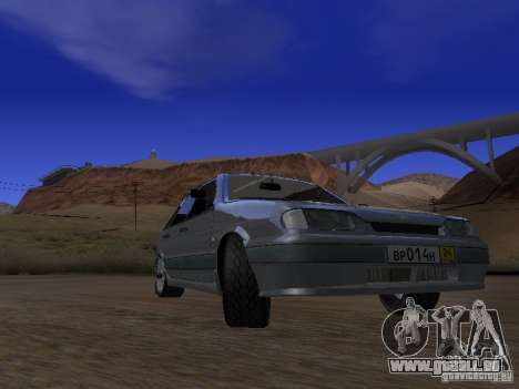 ВАЗ 2114 Tuning pour GTA San Andreas vue arrière