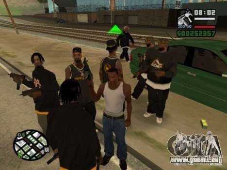 Call of Homies pour GTA San Andreas
