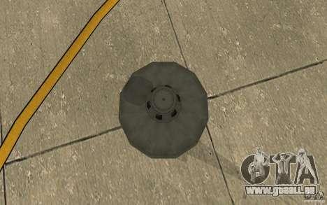UFO pour GTA San Andreas vue de droite