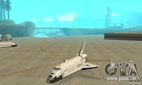 Space Shuttle Discovery für GTA San Andreas