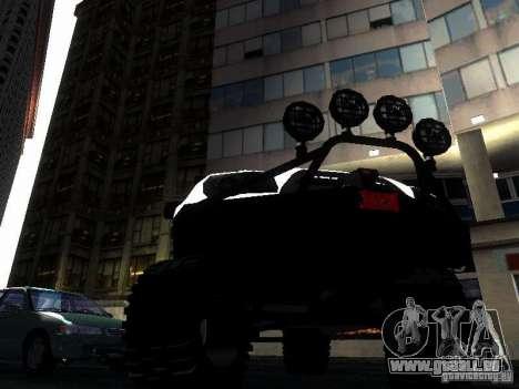 Toyota 4Runner 4X4 für GTA San Andreas Innenansicht
