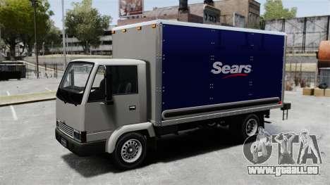 Neue Inserate für den Truck, Mule für GTA 4 hinten links Ansicht