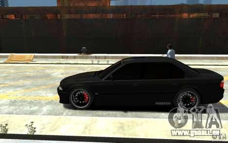 BMW 750i E38 HAMANN für GTA 4 linke Ansicht