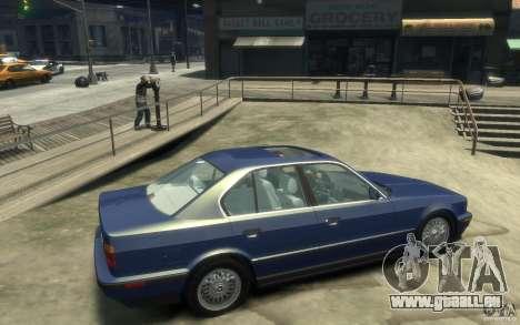 BMW 535i (E34) für GTA 4 rechte Ansicht