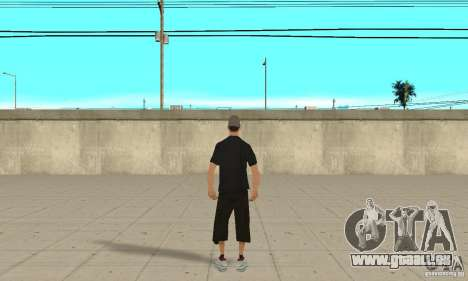 David Blane Skin pour GTA San Andreas troisième écran