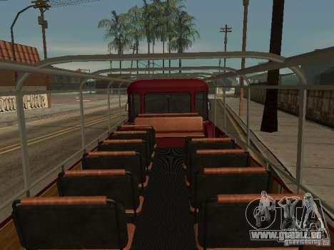 LIAZ 677 Excursion pour GTA San Andreas vue intérieure