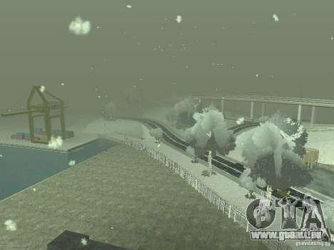 Neige v 2.0 pour GTA San Andreas huitième écran