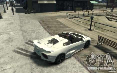 Lamborghini Reventon Roadster REDUX [EPM] pour GTA 4 est un droit
