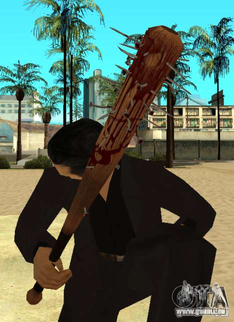 Blutige Bits mit Nägel HD für GTA San Andreas