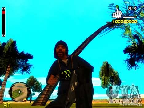 HUD de R1k. pour GTA San Andreas