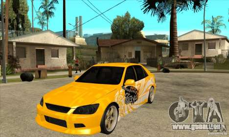 Lexus IS300 Tunable für GTA San Andreas