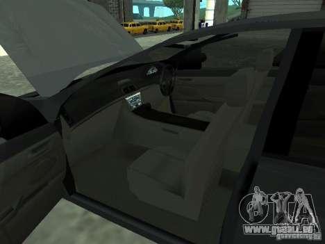 Holden Calais pour GTA San Andreas sur la vue arrière gauche