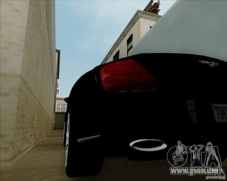 Bentley Continental GT V1.0 für GTA San Andreas Innenansicht
