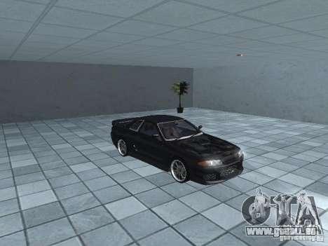 Nissan Skyline R32 Tuned pour GTA San Andreas vue intérieure