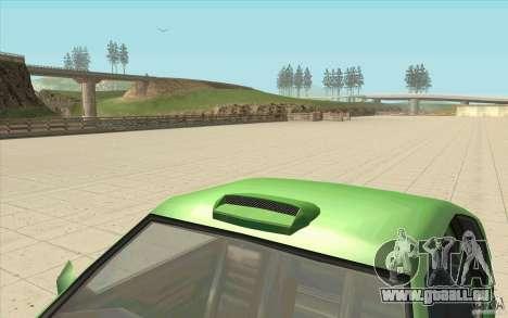 Mad Drivers New Tuning Parts pour GTA San Andreas deuxième écran