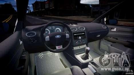 Ford Focus ST MkII 2005 pour GTA 4 Vue arrière