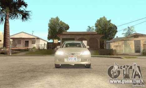 Honda Civic 1998 pour GTA San Andreas vue intérieure