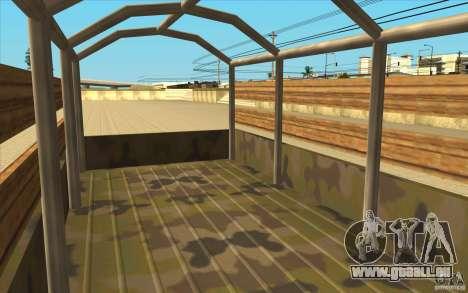 IFA 6x6 Army Truck pour GTA San Andreas vue arrière