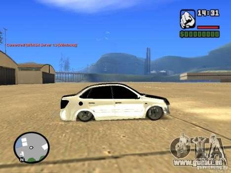 Style de Grant JDM VAZ 2190 pour GTA San Andreas laissé vue