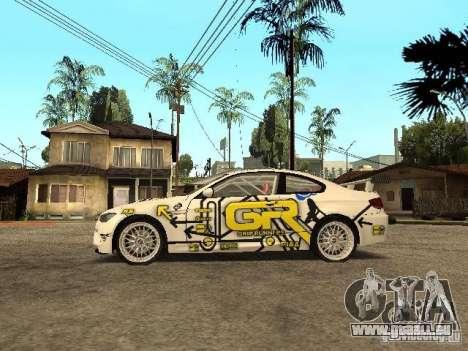 BMW M3 E92 Grip King für GTA San Andreas linke Ansicht