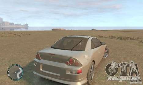 Mitsubishi Eclipse Spyder pour GTA 4 est un droit