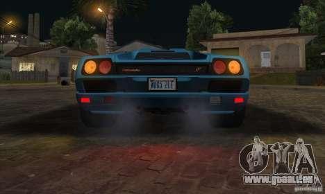 Lamborghini Diablo SV V1.0 für GTA San Andreas Seitenansicht