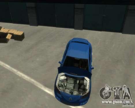 Mazda 3 sedan 2008 für GTA 4 rechte Ansicht