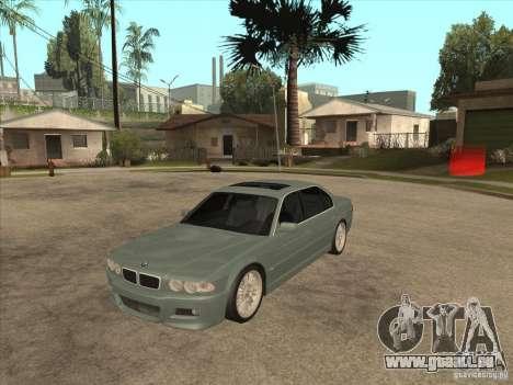 BMW E38 M7 pour GTA San Andreas