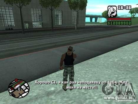 Gun Seller RUS pour GTA San Andreas troisième écran