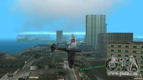 Spitfire Mk IX für GTA Vice City linke Ansicht