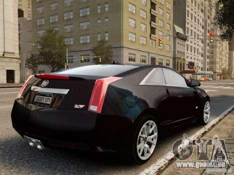 Cadillac CTS-V Coupe 2011 für GTA 4 linke Ansicht
