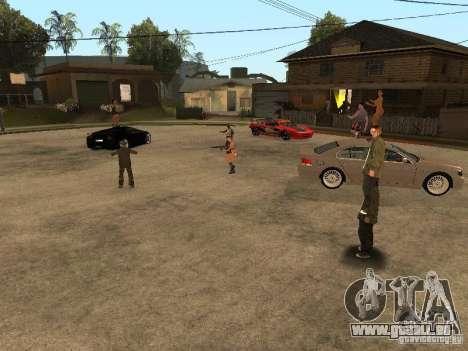 Pati auf Groove Street. für GTA San Andreas dritten Screenshot