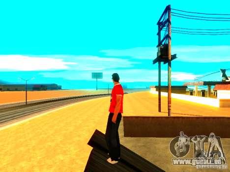 Journaliste de peau pour GTA San Andreas troisième écran