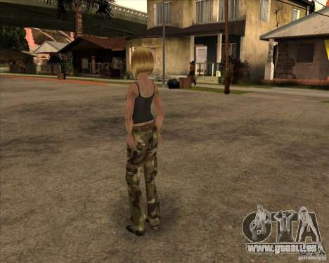 Nouveau gangrl3 pour GTA San Andreas deuxième écran